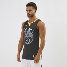 Nike NBA Golden State Warriors Stephen Curry Swingman Basketball Jersey, 1250575