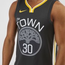 Nike NBA Golden State Warriors Stephen Curry Swingman Basketball Jersey, 1250578