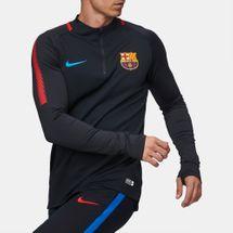 6a40fd357d8 Nike FC Barcelona Dry Squad Drill Football Longsleeve T-Shirt