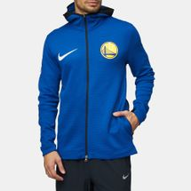 Nike NBA Golden State Warriors Therma Flex Showtime Full Zip Hoodie