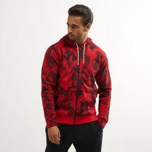 Nike Men's Kyrie Full-Zip Hoodie Red