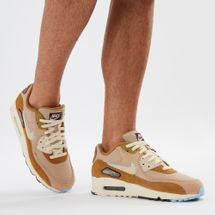 Nike Air Max 90 Premium Special Edition Shoe Brown