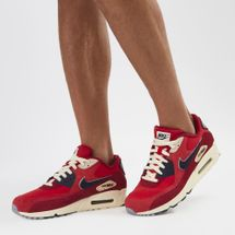 Nike Air Max 90 Premium Special Edition Shoe Red