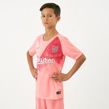 قميص برشلونة الثالث ستيديوم لكرة القدم 2018-2019 من نايك للاطفال