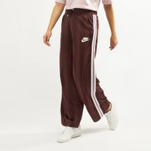 Nike Women's Sportswear Open Hem Pants Brown