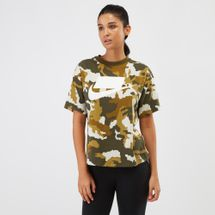 Nike Sportswear Graphics Top Green
