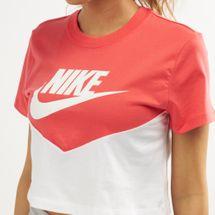 Nike Women's Sportswear Heritage Short-Sleeve T-Shirt, 1470311