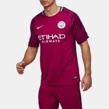 Nike Breathe Manchester City FC Away Stadium Jersey - 2017/18