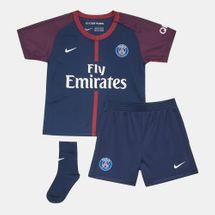 Nike Kids' 2017/18 Paris Saint-Germain Stadium Football Kit (Baby and Toddler)