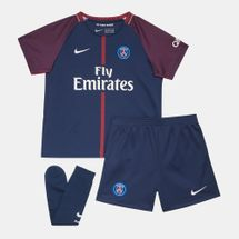 Nike Kids' 2017/18 Paris Saint-Germain Stadium Home Football Kit (Younger Kids)