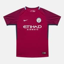 Nike Kids' Breathe Manchester City FC Away Stadium Jersey - 2017/18