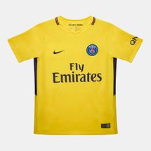 Nike Kids' Paris Saint-Germain Stadium Away T-Shirt - 2017/2018