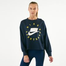 Nike Women's Sportswear French Terry Crew Sweatshirt