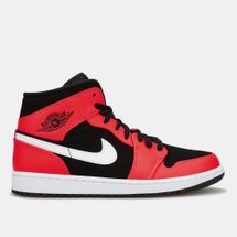 Jordan Men's Air Jordan 1 Mid Shoe Red