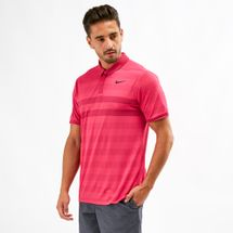 Nike Golf Zonal Cooling Striped Polo T-Shirt