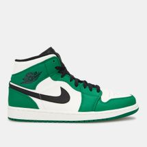 Jordan Men's Air Jordan 1 Mid SE Shoe Green