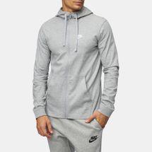 Nike Sportswear Full Zip Jersey Club Hoodie