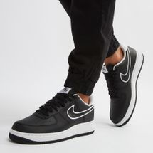 Nike Air Force 1 '07 Leather Shoe Black