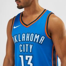 Nike NBA Oklahoma City Paul George Icon Edition Swingman Jersey, 1283624