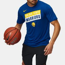 Nike NBA Golden State Warriors Dry Logo Basketball T-Shirt