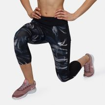 Nike Power Printed Crop Running Leggings