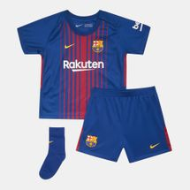 Nike Kids' FC Barcelona Home Stadium Kit - 2017/18 (Younger Kids)