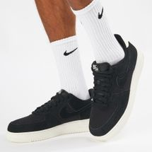 Nike Air Force 1 '07 Suede Shoe Black