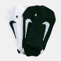 Nike Multiplier No-Show Socks (2 Pack)