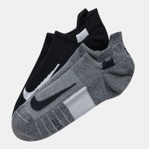Nike Multiplier No Show Socks (2 Pair)