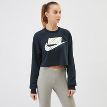 Nike Sportswear Crop T-Shirt Blue