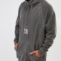 Jordan Sportswear Wings Quarter-Zip Fleece Sweatshirt, 1208351