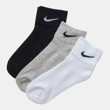Nike Value Quarter Socks 3-Pack Multi