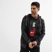 Nike Men's Kyrie Full-Zip Hoodie Black