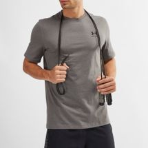 Under Armour Charged Cotton® Left Chest Lockup T-Shirt