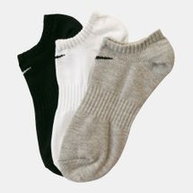 Nike Everyday No-Show Training Socks (3 Pack)