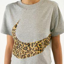 Nike Women's Sportswear Animal Cropped T-Shirt, 1638523