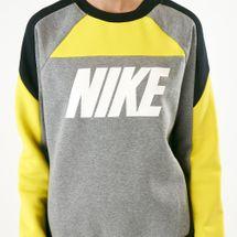 Nike Women's Sportswear Fleece Colour-Block Sweatshirt, 1535054