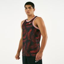 Nike Men's Dry DNA Printed Basketball Jersey