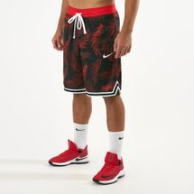 Nike Men's DNA Floral Basketball Shorts Red