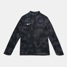 Nike Kids' Shield Squad Drill Long Sleeve Top