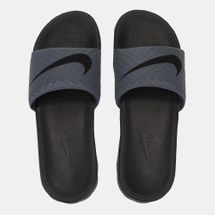 Nike Benassi Solarsoft Slides Grey