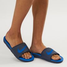 Nike Benassi Solarsoft 2 Slides Blue