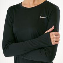 Nike Women's Dri-FIT Miler Long Sleeve Top, 1541272