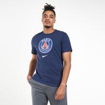Nike Men's Paris Saint-Germain Evergreen Crest T-Shirt