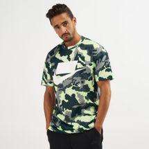 Nike NSW Mesh Camo Print T-Shirt