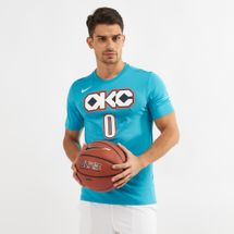Nike NBA Oklahoma City Thunder Rusell Westbrook Dri-FIT City Edition T-Shirt