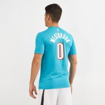 Nike NBA Oklahoma City Thunder Rusell Westbrook Dri-FIT City Edition T-Shirt, 1433071