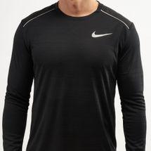 Nike Men's Dri-FIT Miler Long Sleeve Top, 1482547