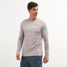 Nike Men's Dri-FIT Miler Long Sleeve Top