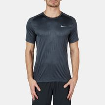 Nike Dri-FIT Miler Fuse Running T-Shirt Black